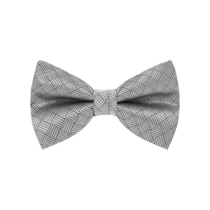 Bow Tie, Basket, Silver