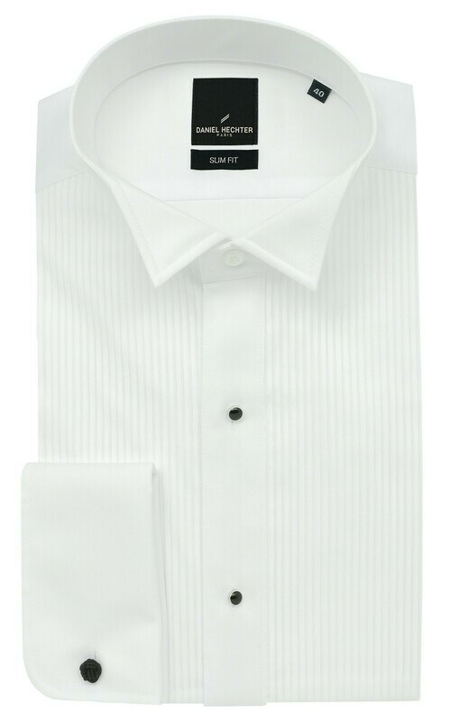 Wing Collar Dinner Shirt