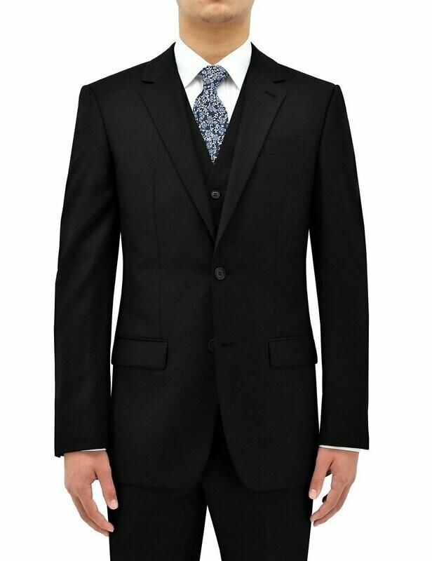Black wool - Suit