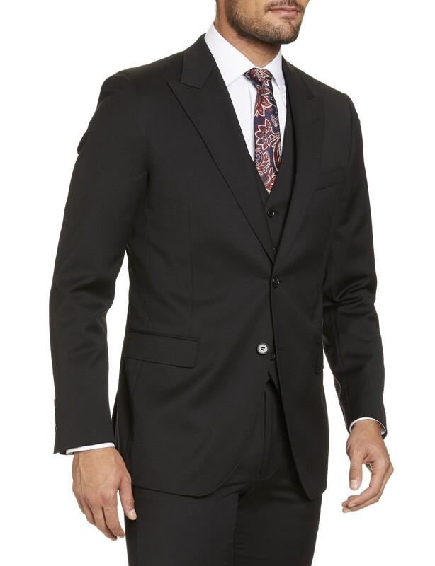 SI Lugano Black Suit