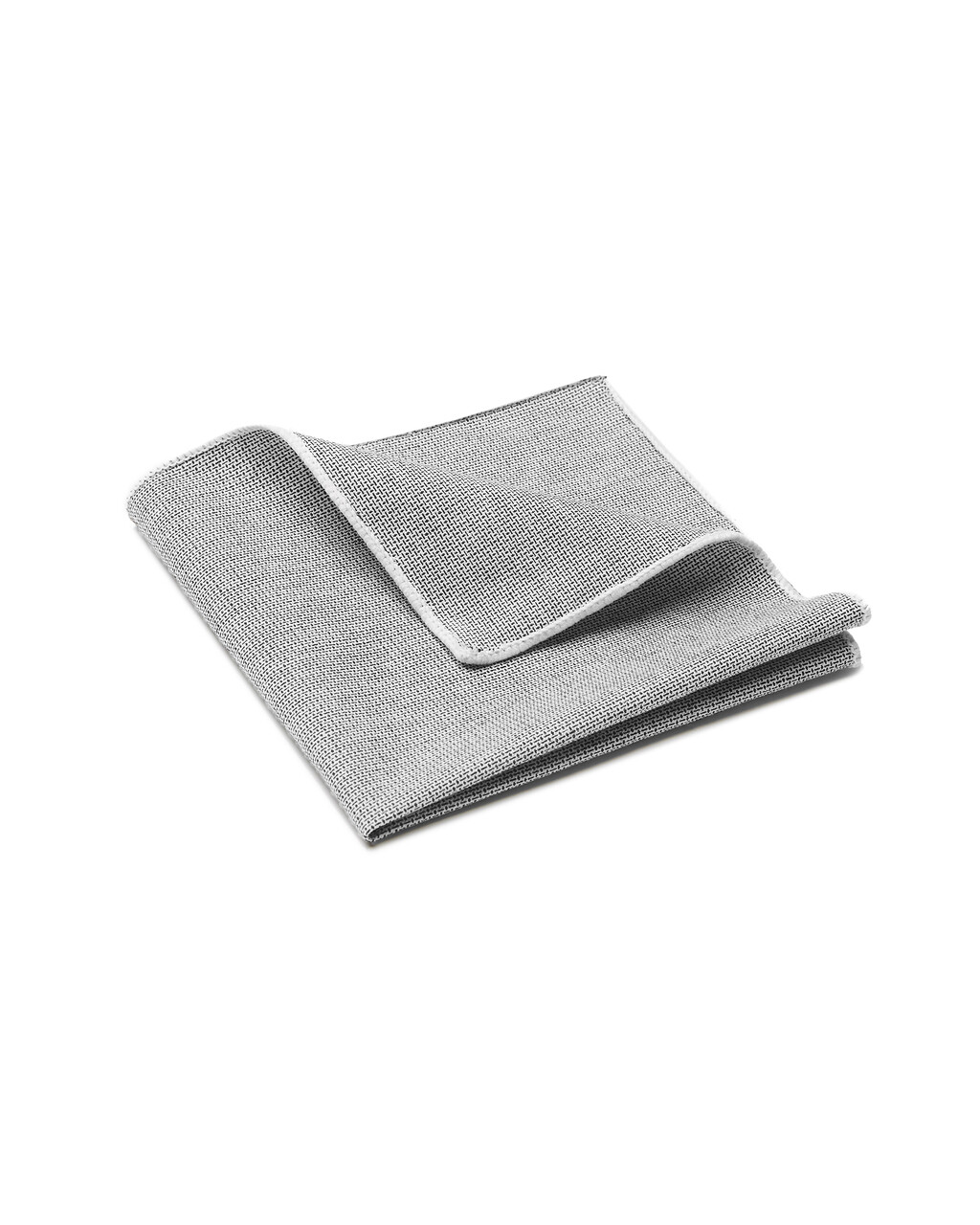 Pocket Square, Tweed, Grey