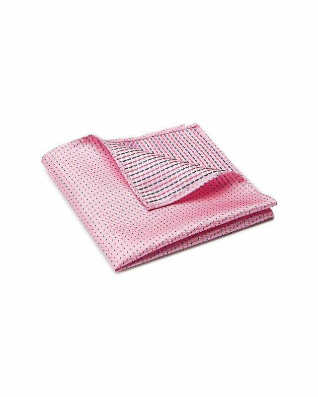 Pocket Square, Micro Dot, Pink