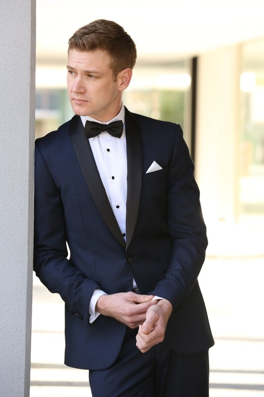 Boston-Navy Dinner Suit