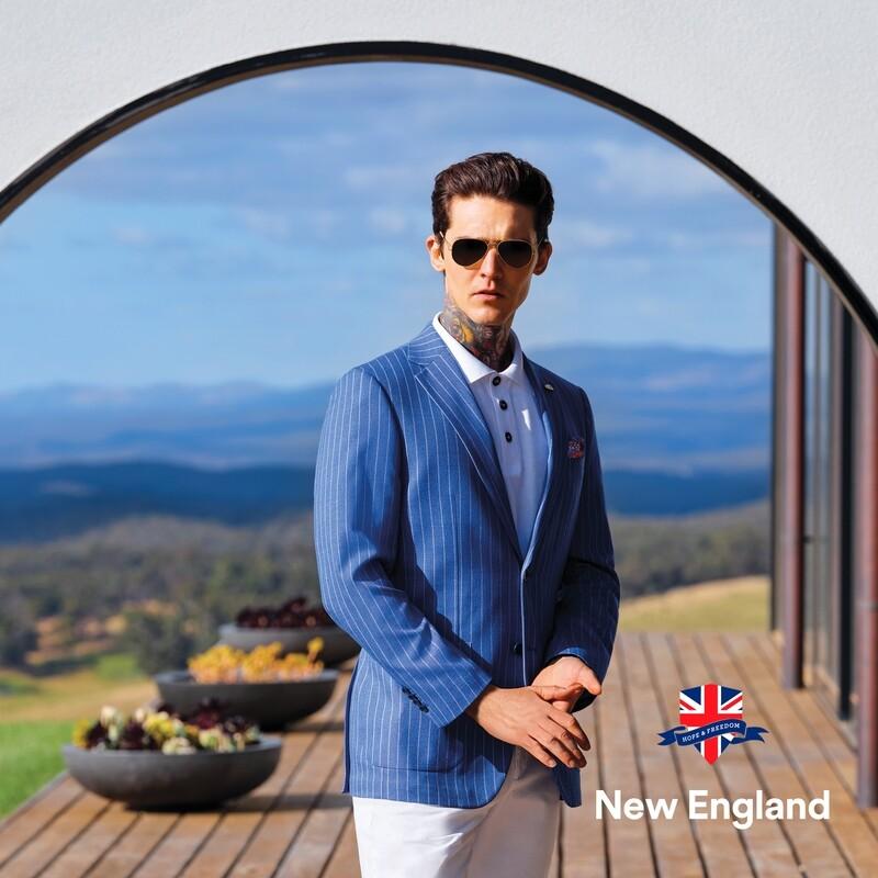 Billy Blue Stripe Jacket