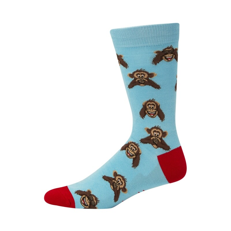 MENS MONKEY BUSINESS BAMBOO SOCK
