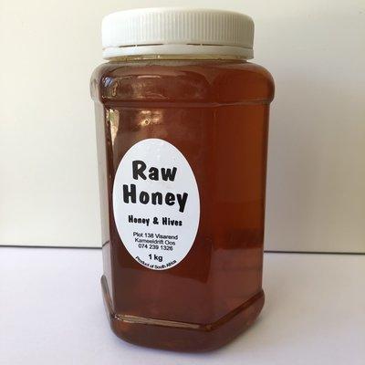 Raw Unprocessed Honey 1kg Jar