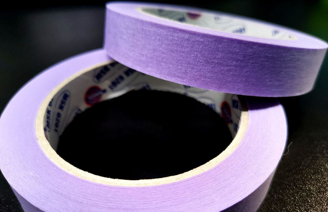 Eurocel Малярная лента 40м, сиреневая 19мм
