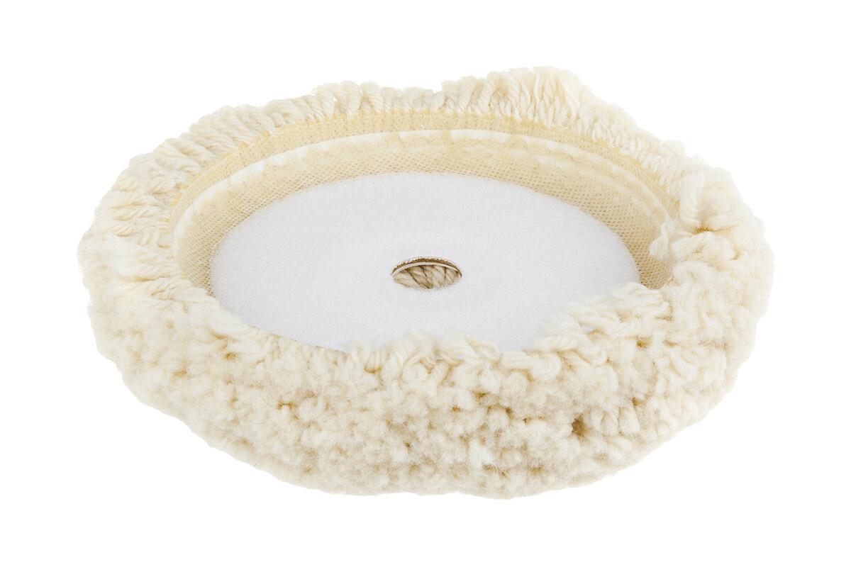 Flexipads 150 мм FlexiPads Cupped Twisted жесткий полировальный круг из натуральной витой овчины