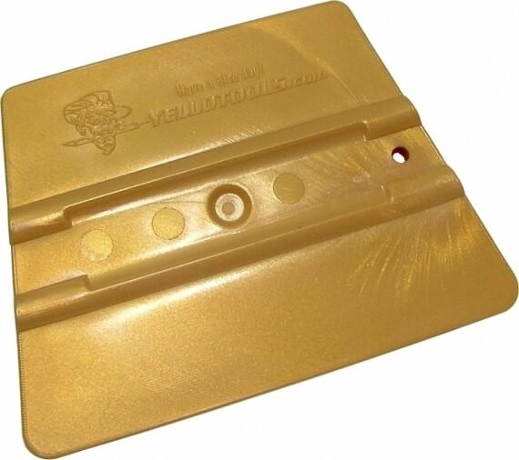 Ракель  Yellotools Prowrap Золотой 95*75мм жесткость 72