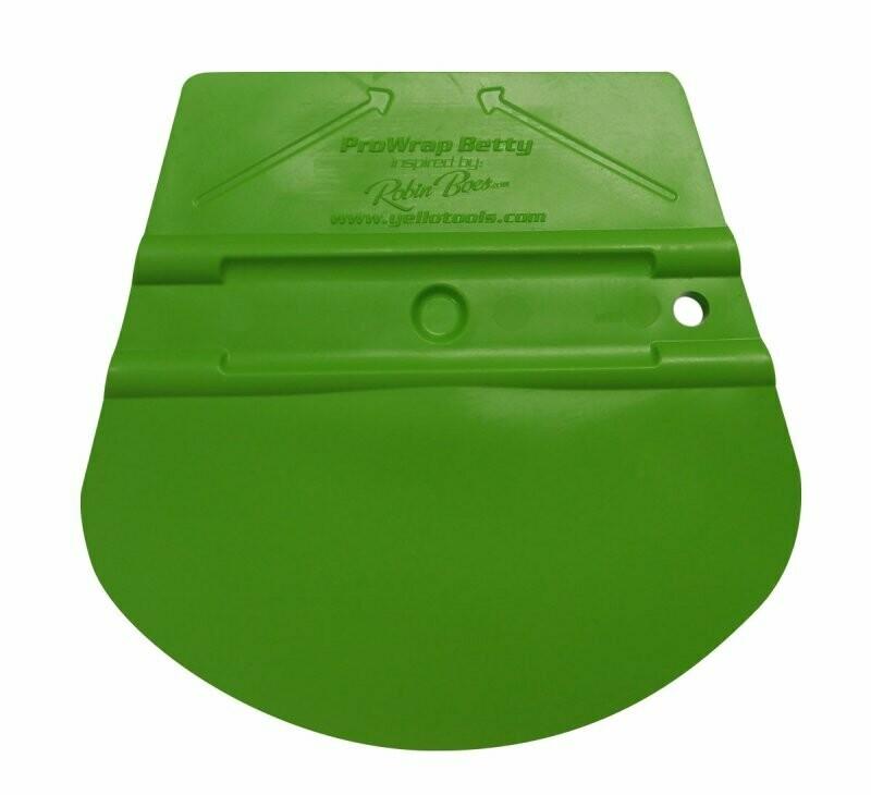 Ракель  YelloTools ProWrap Betty зеленый, жесткость 40