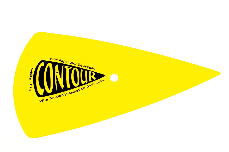 Ракель Countour Желтый треугольный 150*90 средняя жесткость