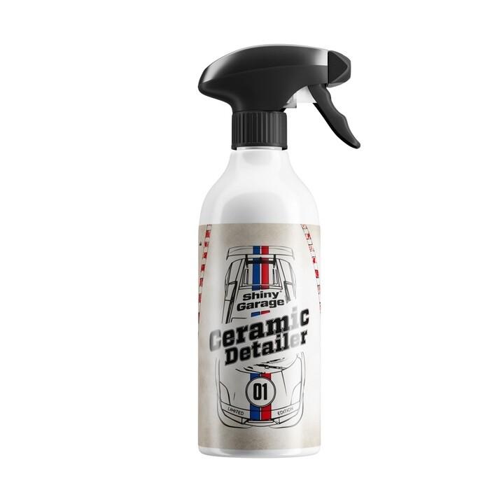 Детейлинг спрей с SiO2 Shiny Garage ICY Ceramic Detailer 500мл