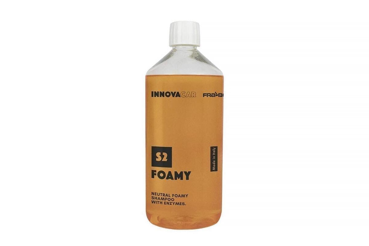 INNOVACAR S2 Foamy pH Нейтральный пенный автошампунь с энзимами