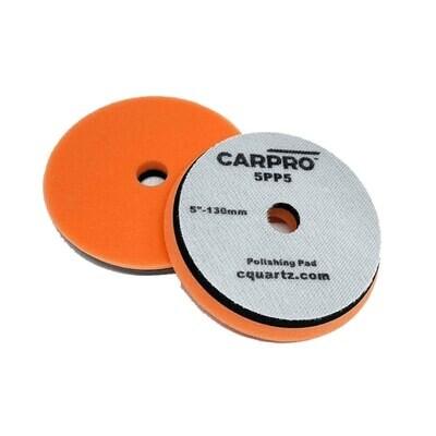 Car Pro Круг Foam Polishing Pad 6 d 130 мм  Оранжевый полировальный круг - средней жесткости.