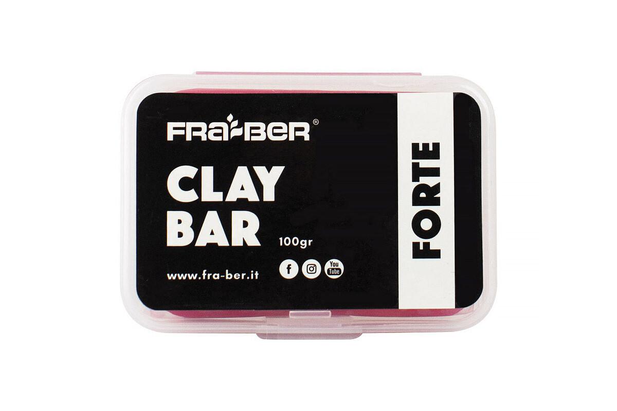 Глина красная полировальная твердая Clay Bar Red Forte, 100 гр / INNOVACAR