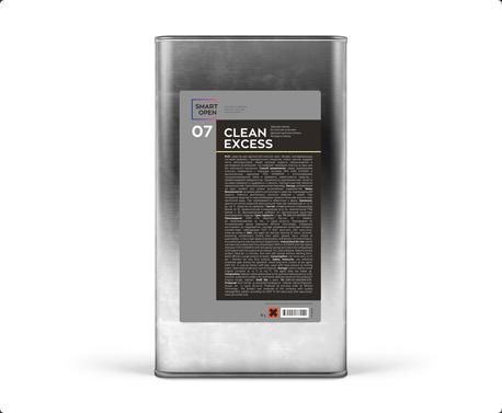 Smart Open 07  CLEAN EXCESS - деликатный очиститель битума и смолы, 5л
