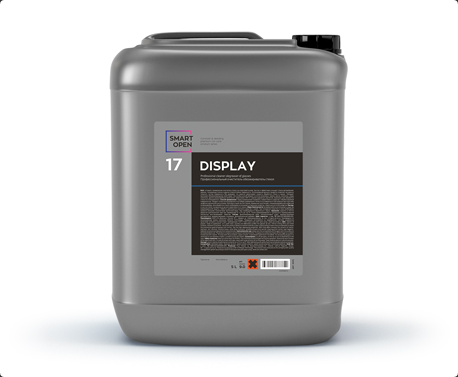 Smart Open 17  DISPLAY - универсальный очиститель стекол, 5л