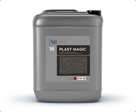 Smart Open 16 Plast Magic - матовое молочко для внутреннего пластика 5 л,