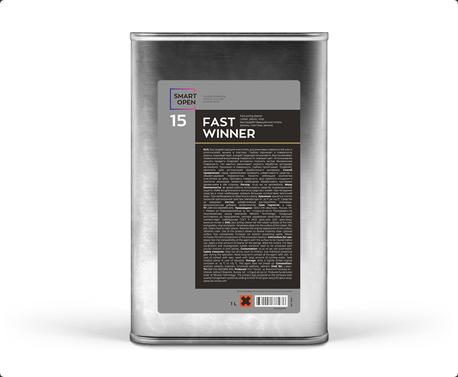 Smart Open 15 Fast Winner - очиститель резины, пластика, винила 5 л,