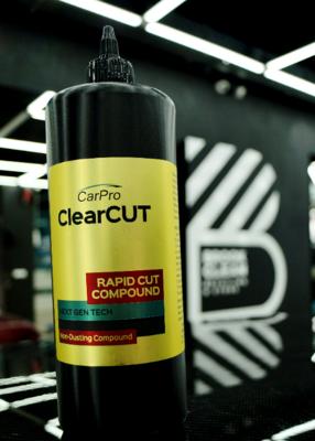 Car pro ClearCut (КлирКат) 1л - абразивная полировальная паста