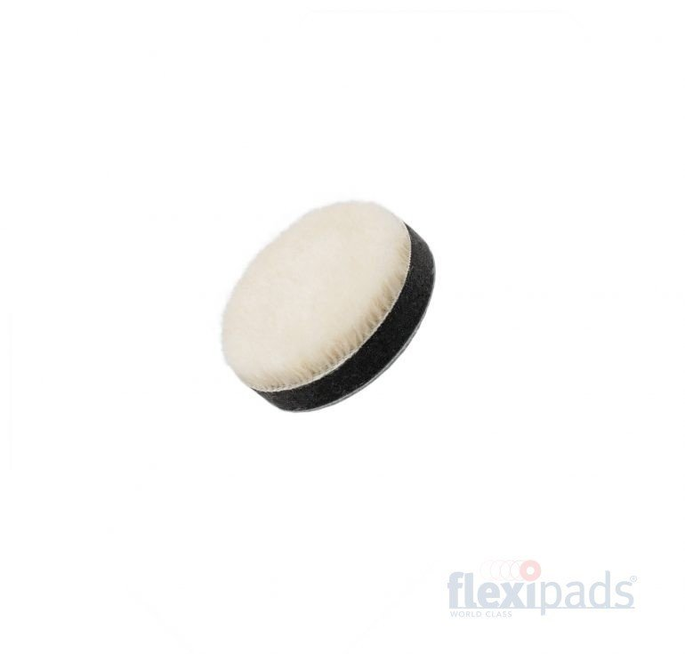 """Flexipads  55 мм PRO-Wool Detailing режущий полировальный круг """"стриженный мех"""" (набор 5 шт.) / 55mm (2"""") PRO-Wool Detailing GRIP Pad (Set of 5)"""