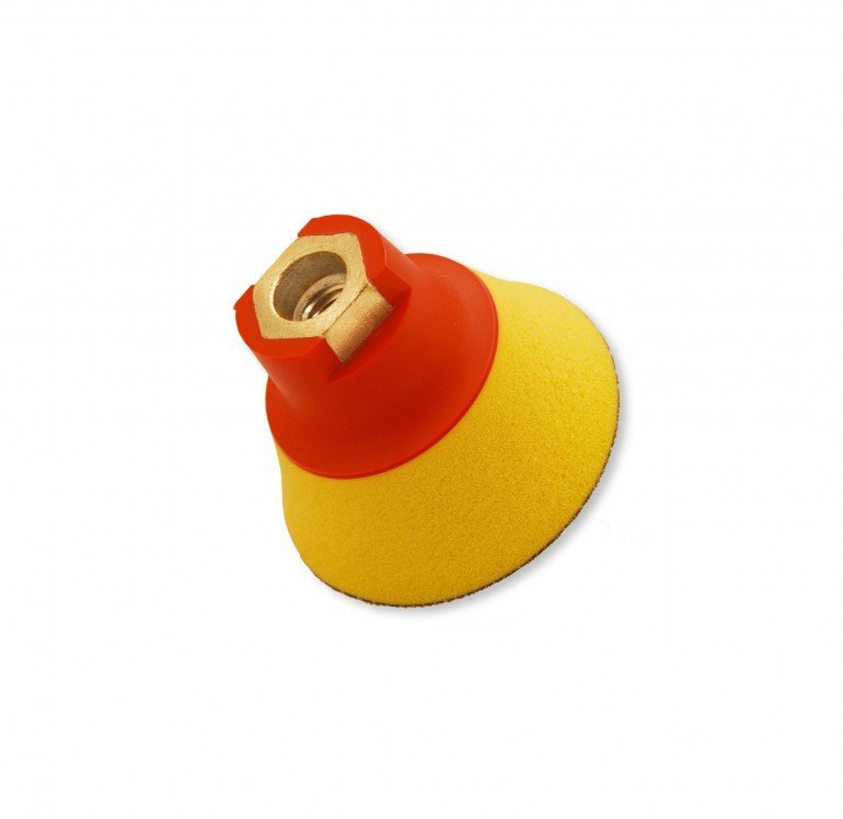 Flexipads 75 мм М14 подошва ультрамягкая / 75mm M14 Thread GRIP Ultra Soft Density (25mm Foam)