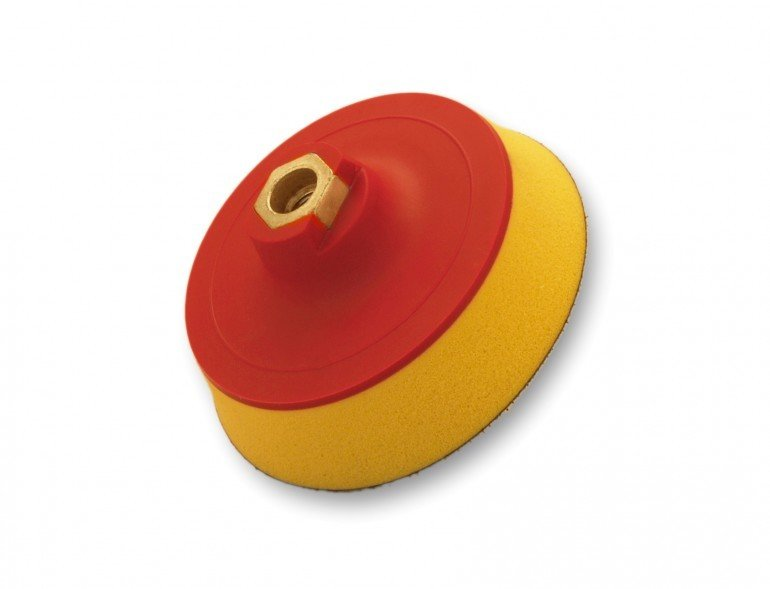 Flexipads 125 мм М14 подошва ультрамягкая / 125mm M14 Thread GRIP Ultra Soft Density (25mm Foam)