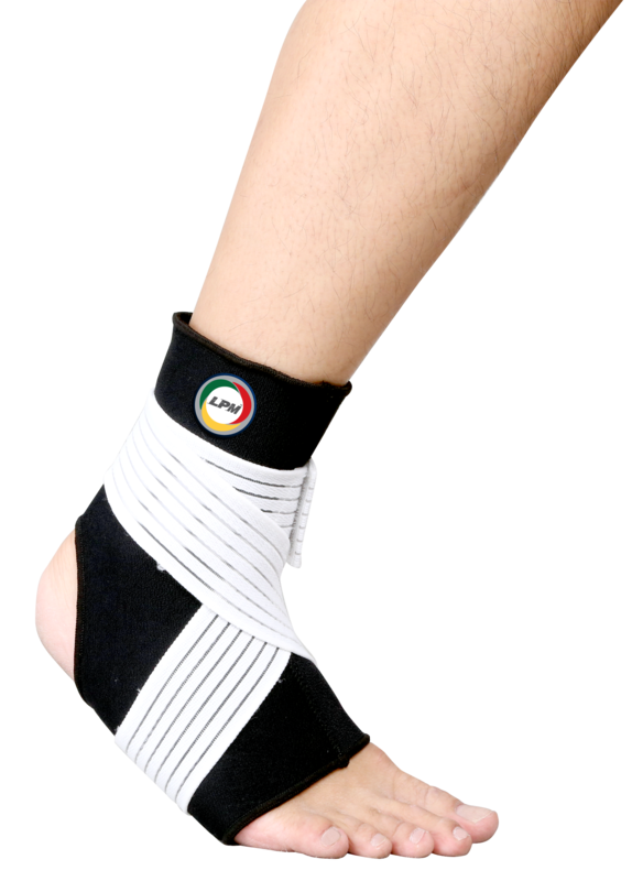 LPM ANKLE SUPPORT WITH STRAP