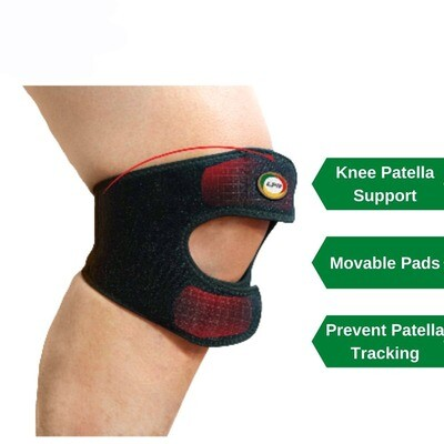LPM KNEE SUPPORT WITH MOVABLE PADS