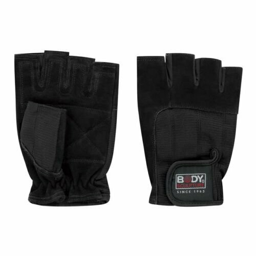 SPANDEX/LEATHER FITNESS GLOVES