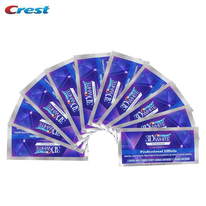 Отбеливающие полоски CREST WHITESTRIPS 3D PROFESSIONAL EFFECTS LUXE 1 уп. = 2 полоски