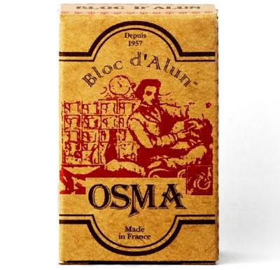 Osma Traditional Pierre D'Alun - Алюмокаливые квасцы в картонной таре 75 гр