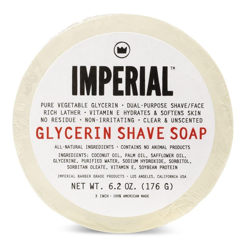 Imperial Barber Glycerin Shave Soap - Глицериновое мыло для бритья 176 гр