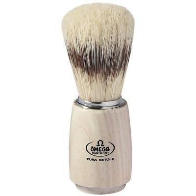 Omega 11711 - Помазок для бритья Щетина кабана Дерево 115мм