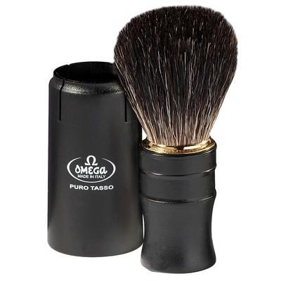 Помазок для бритья Omega 614 Дорожный барсучий ворс
