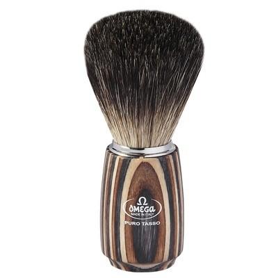 Omega 6752 - Помазок для бритья, Барсучий ворс 111мм