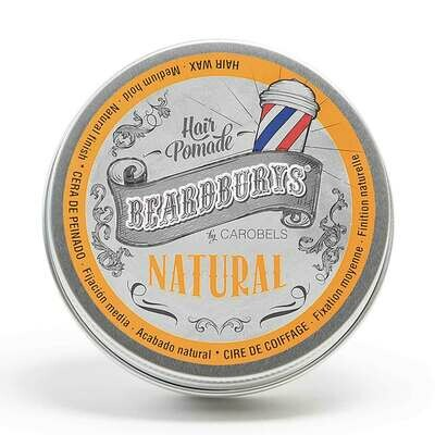 BeardBurys Natural Hair Pomade - Помада для укладки волос 100 мл