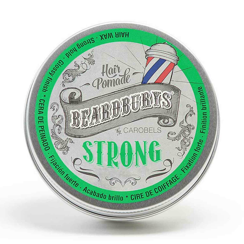 BeardBurys Strong Hair Pomade - Помада для укладки волос 100 мл