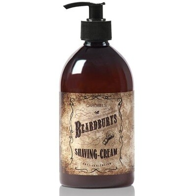 BeardBurys Shaving Cream - Крем для бритья 500 мл