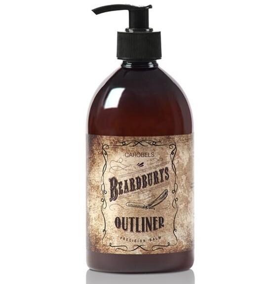 BeardBurys outliner Emulsion - Бесцветный бальзам для бритья 500 мл
