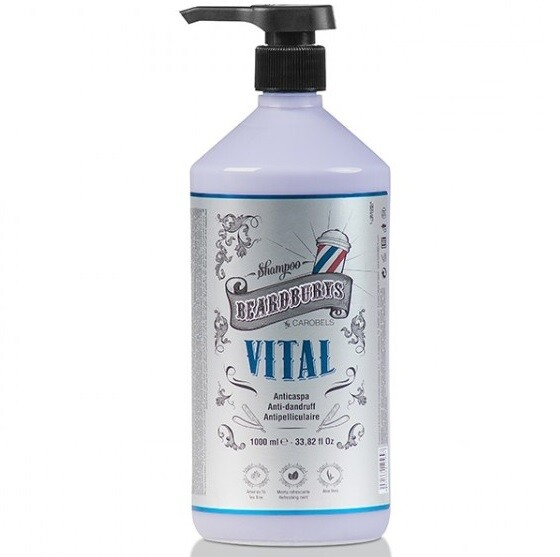 BeardBurys Anti Dandruff Shampoo - шампунь против перхоти 1000 мл