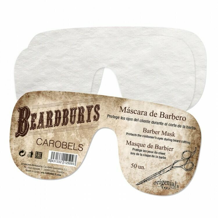 BeardBurys Barber Mask - Маска для глаз одноразовая