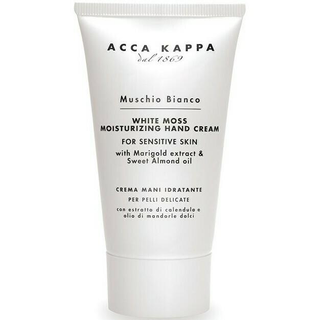 Acca Kappa Muschio Bianco Hand Cream - Питательный крем для рук Белый Мускус 75 мл