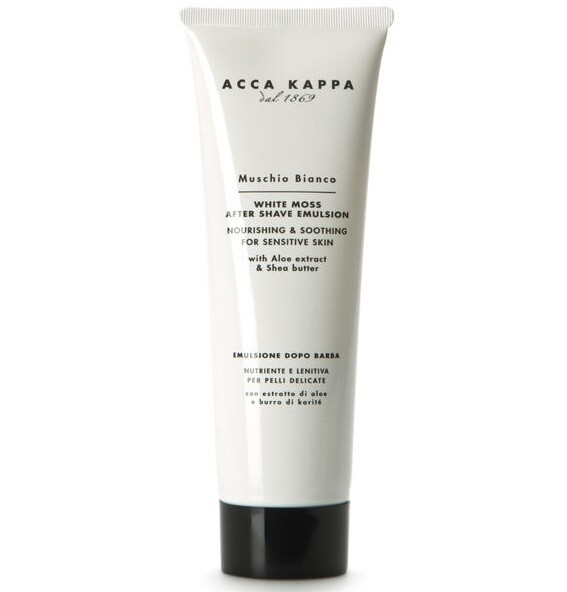 Acca Kappa Muschio Bianco After Shave Emulsion - Эмульсия после бритья 125 мл