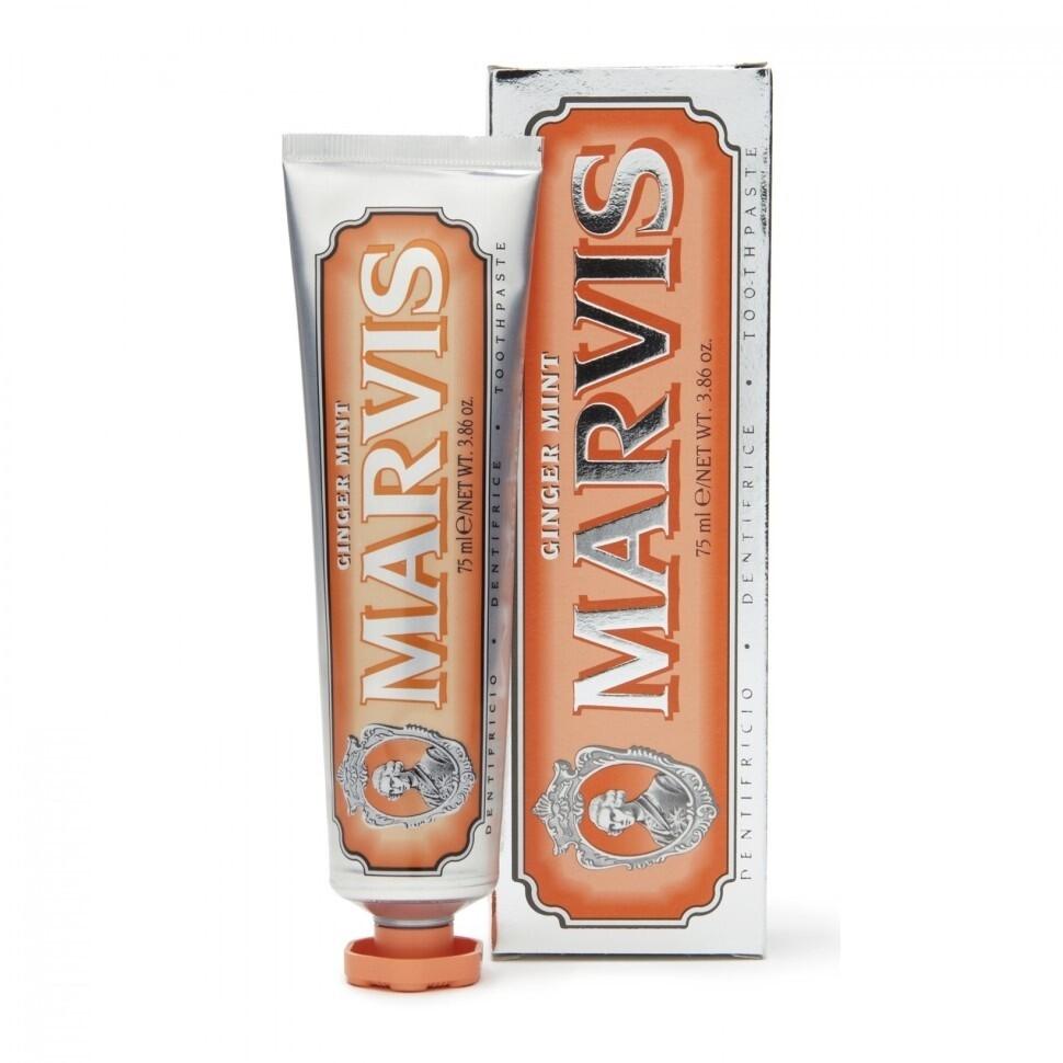 Marvis Ginger Mint - Зубная паста Мята и имбирь 85 мл