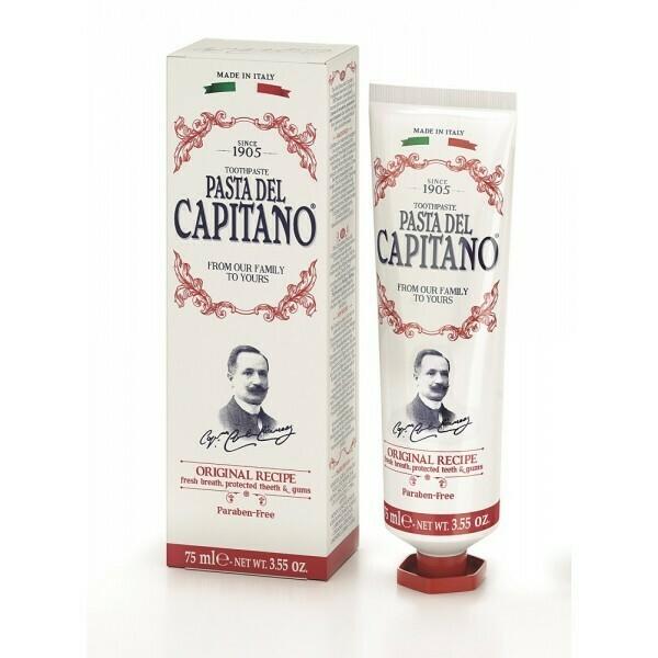 Pasta del Capitano Original recipe - Зубная паста Оригинальный рецепт 75 мл