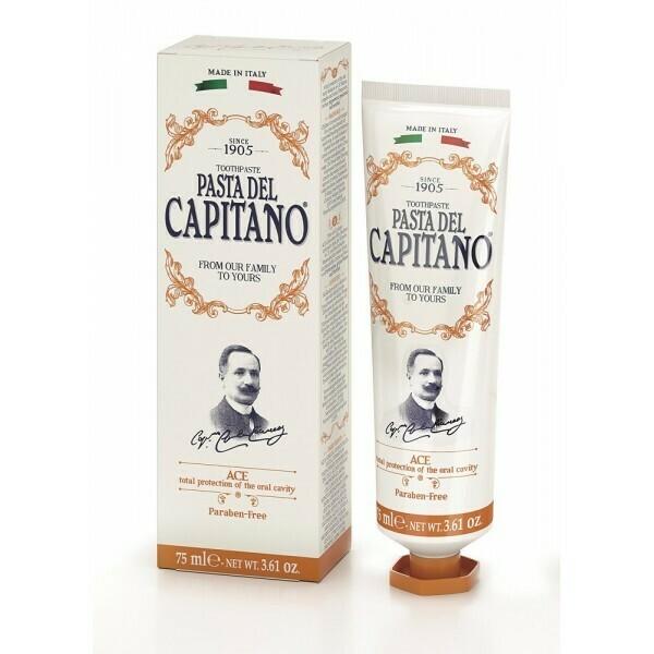 Pasta del Capitano A.C.E. - Зубная паста мята и ментол 75 мл