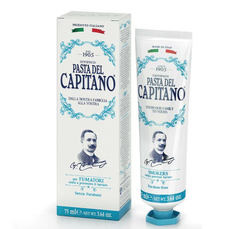 Pasta del Capitano Smokers - Зубная паста для курильщиков 25 мл