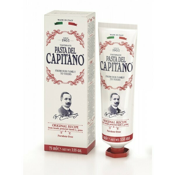 Pasta del Capitano Original recipe - Зубная паста оригинальный рецепт 25 мл