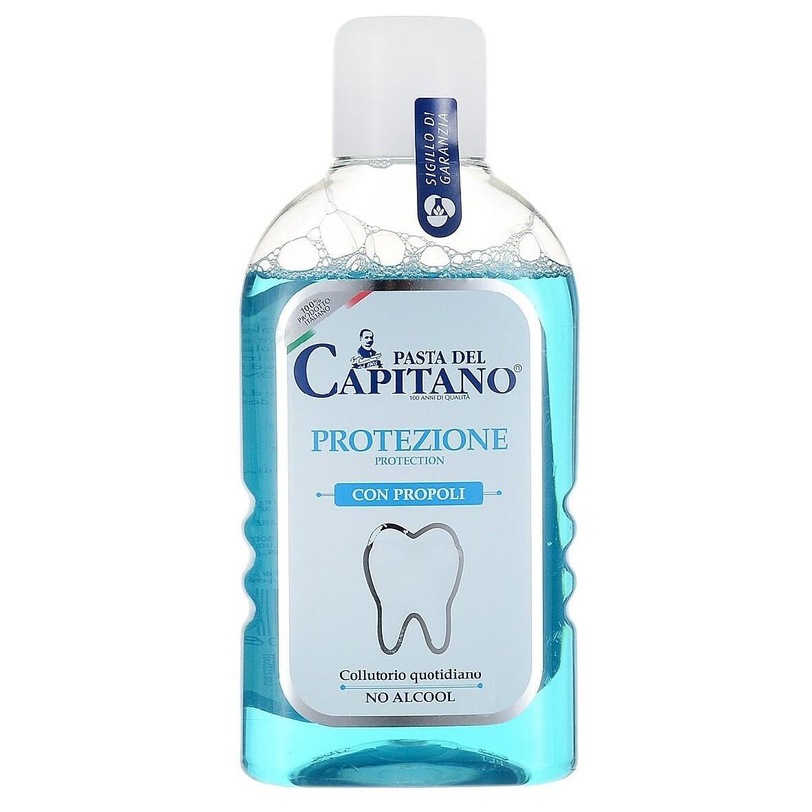Pasta del Capitano - Ополаскиватель для полости рта Свежее дыхание 400 мл